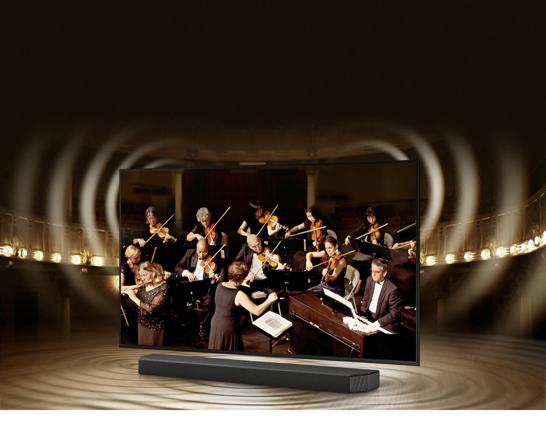 Τηλεόραση και soundbar ενορχηστρωμένα με αρμονία