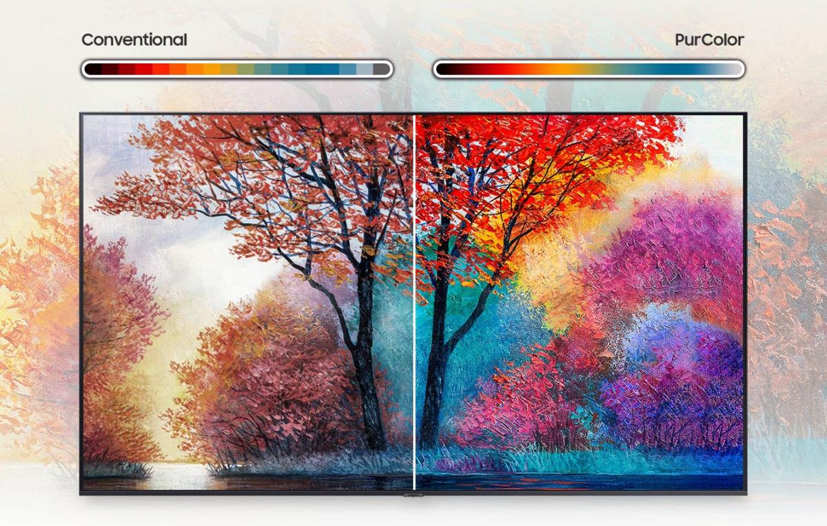 Εντυπωσιακό χρώμα για ζωντανή, ρεαλιστική εικόνα