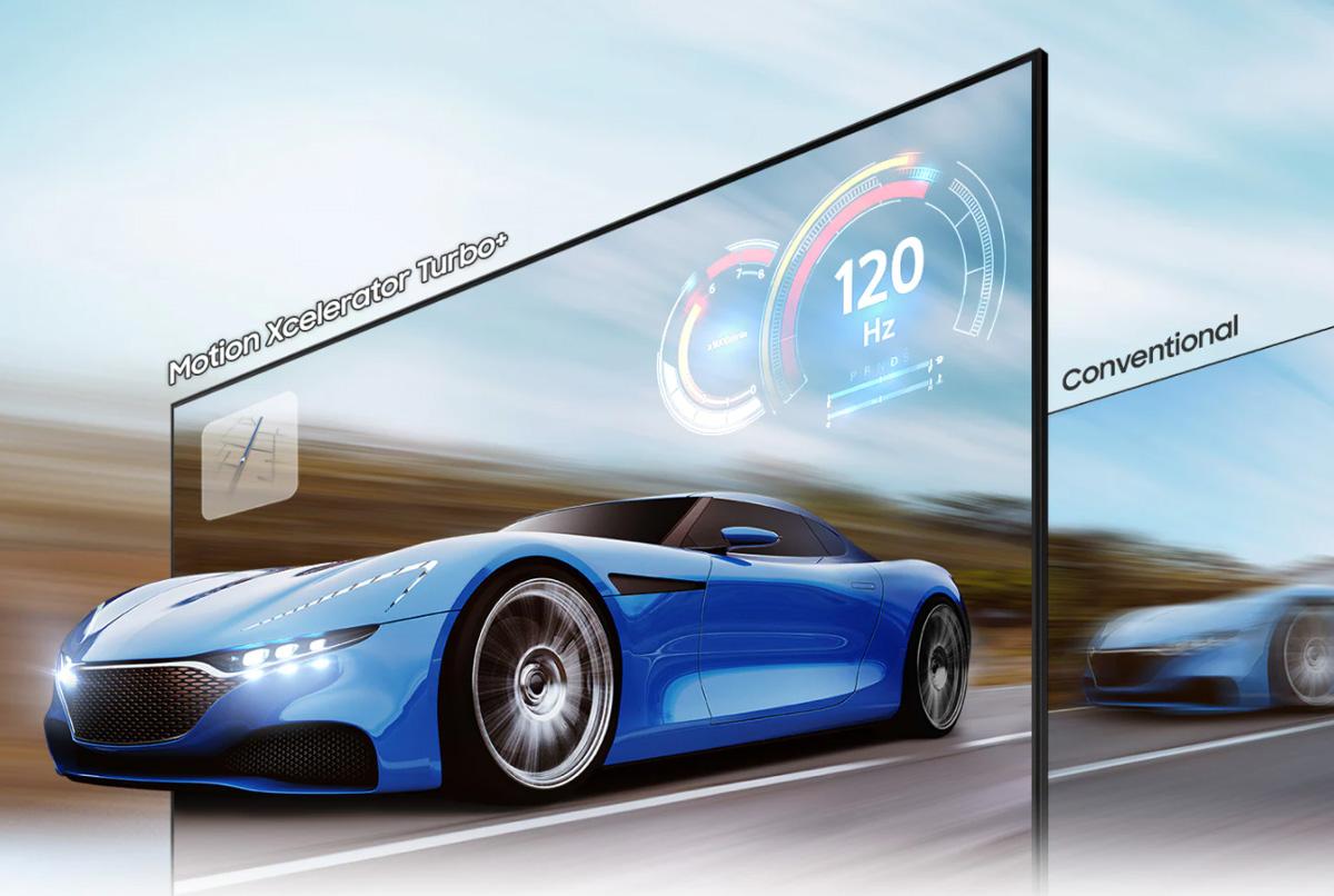 Εξελιγμένη απόδοση κίνησης σε σήμα 120Hz/ 4k