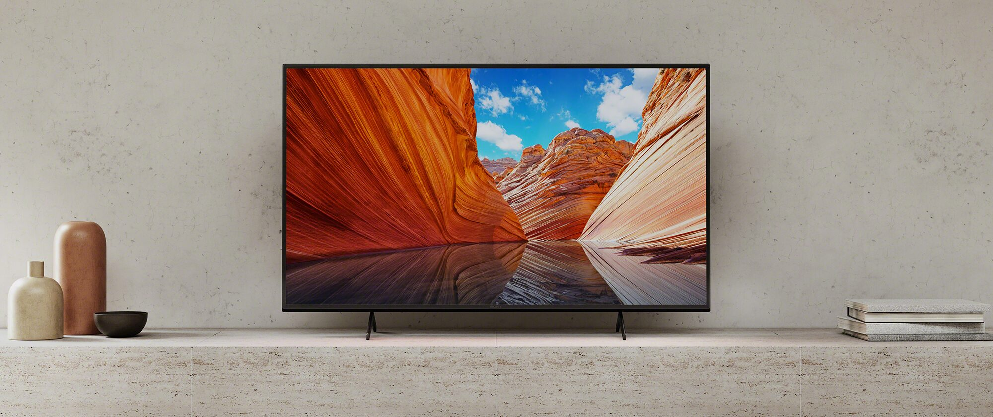 Ρεαλιστική Google TV™, με έντονο χρώμα και ήχο