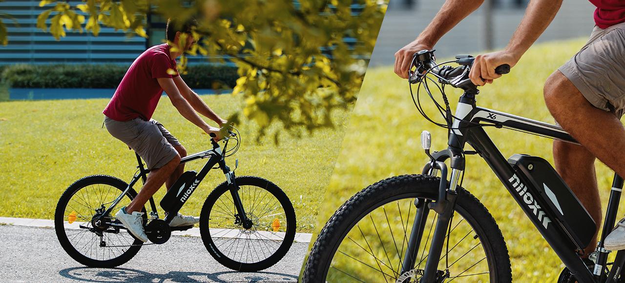 Mountain ηλεκτρικό ποδήλατο Nilox Doc X6