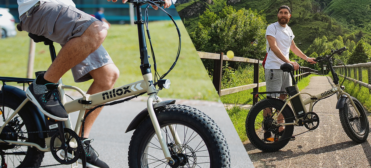 Ηλεκτρικό ποδήλατο Nilox Doc X8