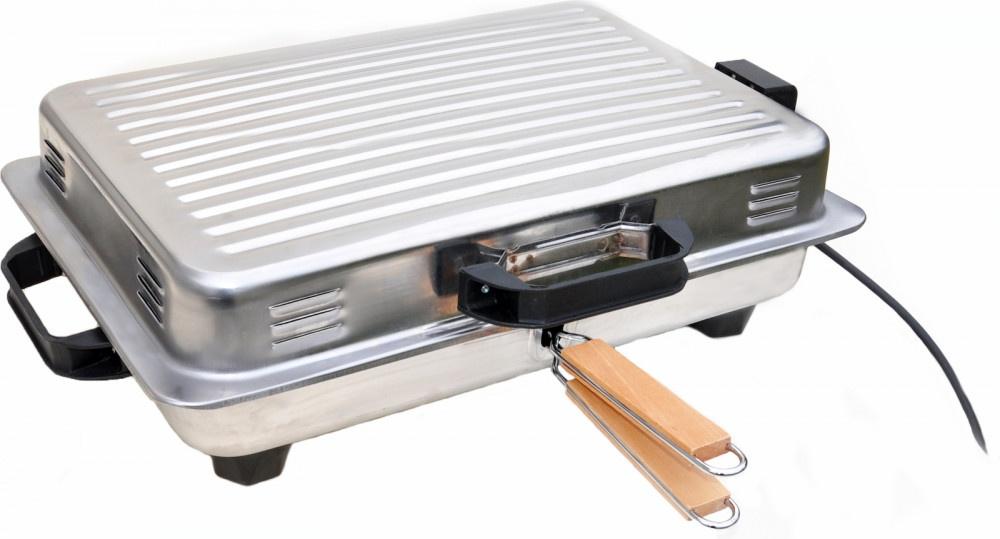 Ψηστιέρα Ηλεκτρική Roller 1050W Inox 18/D
