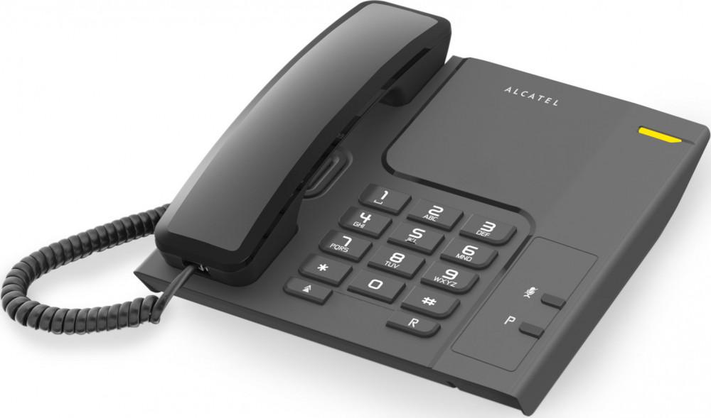 Τηλέφωνο Ενσύρματο Alcatel Temporis T26 Μαύρο