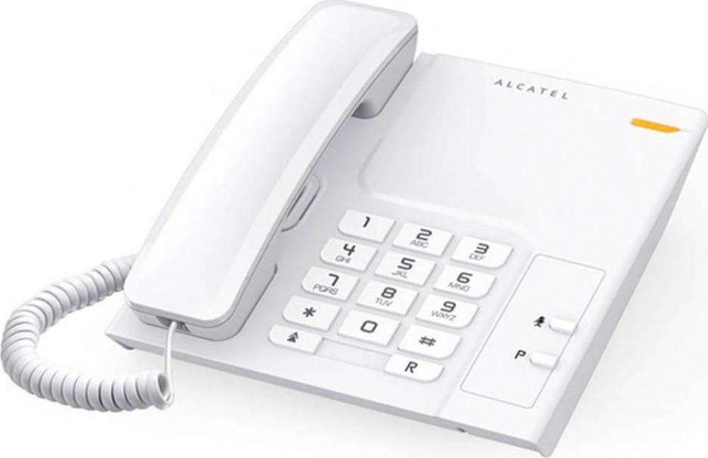 Τηλέφωνο Ενσύρματο Alcatel Temporis T26 Λευκό