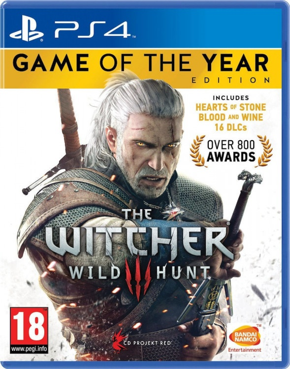 PS4 The Witcher 3 Wild Hunt Game of The Year Edition