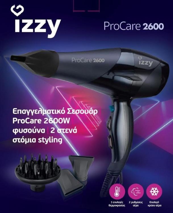 Σεσουάρ Izzy 2600W PROCARE