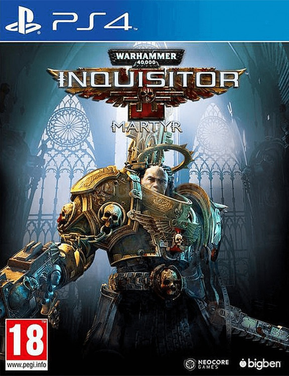 PS4 Warhammer 40000:Inquisitor