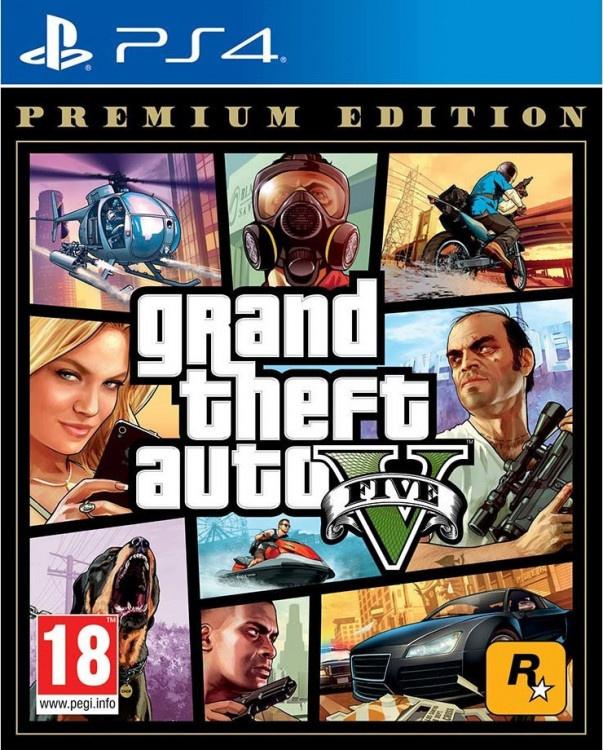PS4 Grand Theft Auto V Premium Edition