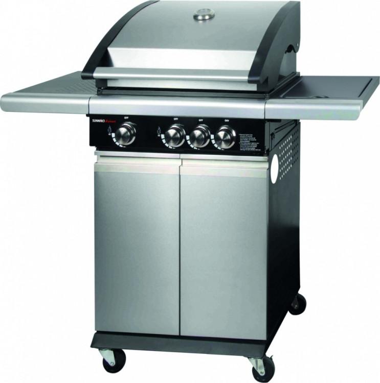 Ψησταριά Υγραερίου  Cook Master SMART 3001 Sunwind  με Εστία