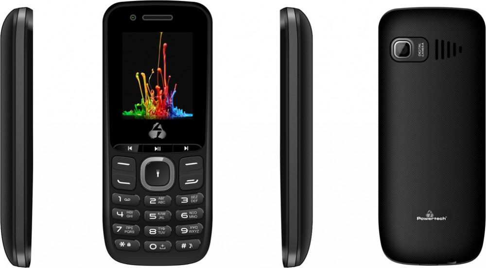 Κινητό Τηλέφωνο Milly Small PTM-14 DS Μαύρο