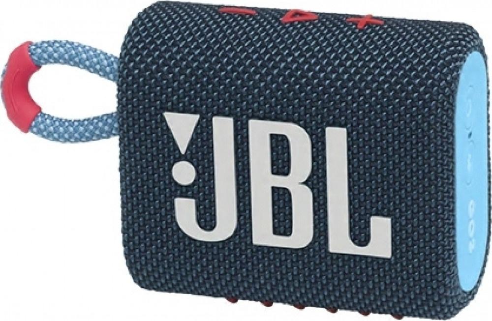 Speaker Bluetooth JBL Go 3 Blue-Pink