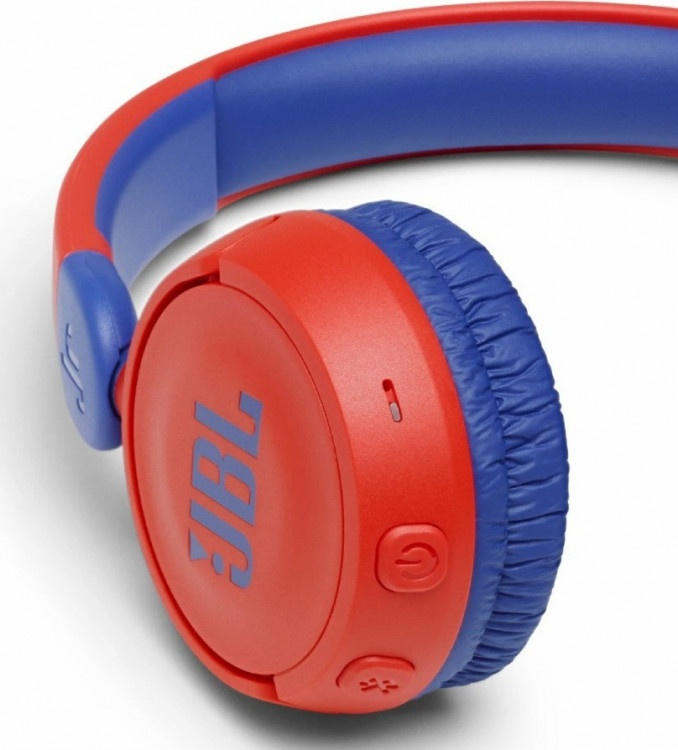 Παιδικά Headphones Bluetooth JBL JR 310BT Blue-Red