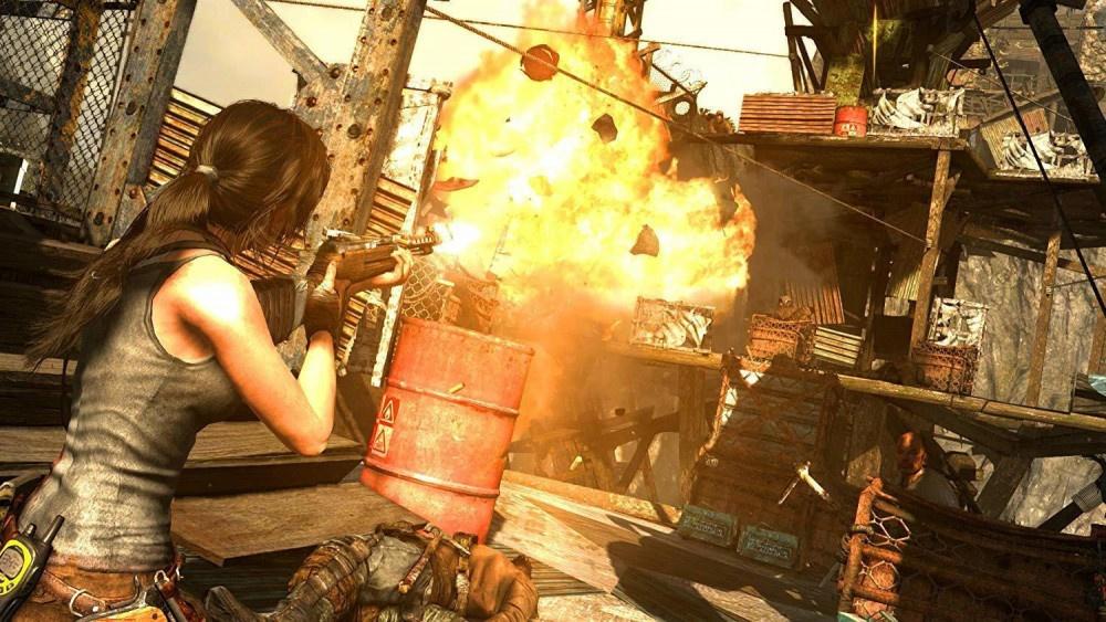 PS4 Tomb Raider Definitive Edition