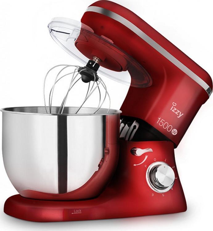 Κουζινομηχανή Izzy  IZ-1500 Κόκκινη
