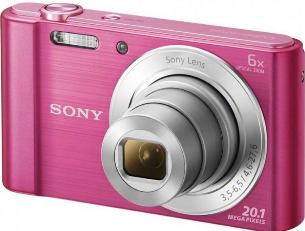 Camera Sony DSCW810P Pink