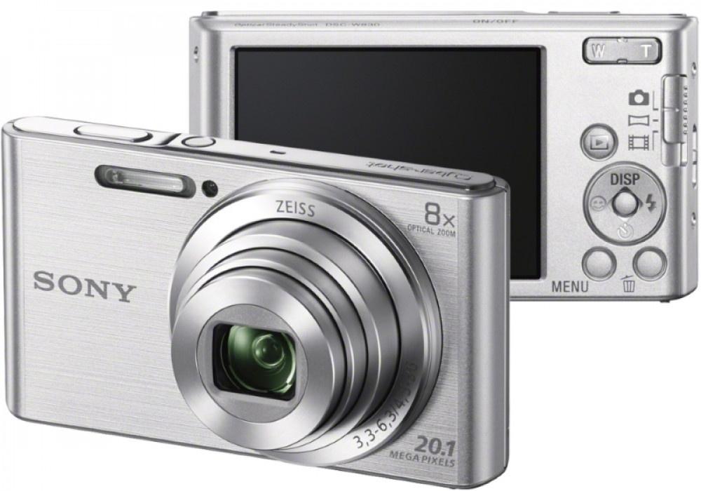 Camera Sony DSCW830S Silver