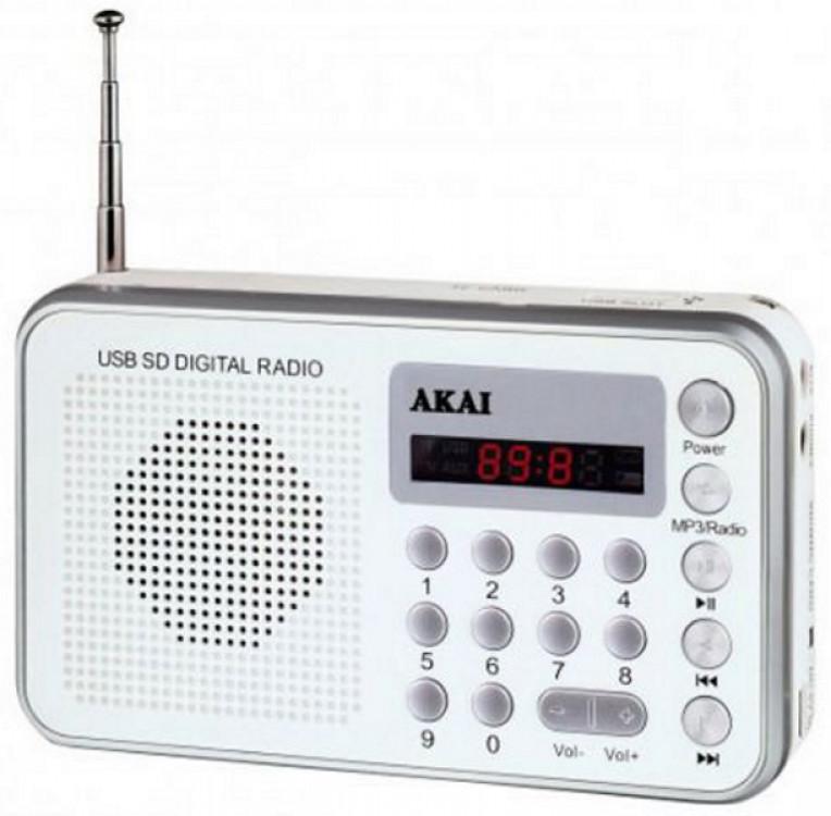 Ραδιόφωνο Ψηφιακό Akai DR002A-521 White