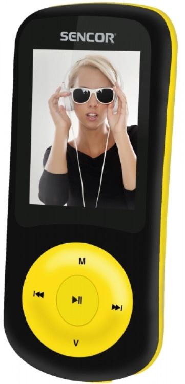 MP4 Player Sencor SFP5870BYL Black-Yellow