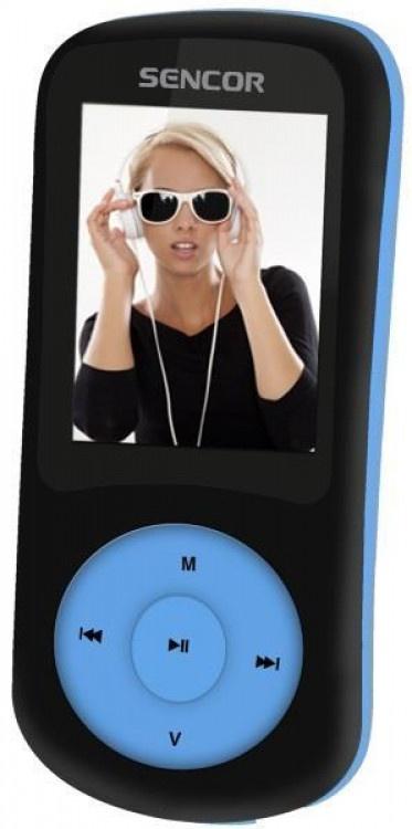 MP4 Player Sencor SFP5870BBU Black-Blue