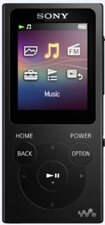 MP4 Player Sony 8GB NWE394B Black