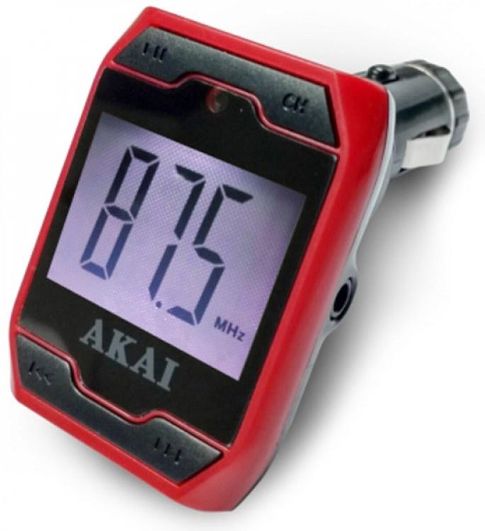 Car FM Transmitter Akai FMT-701D