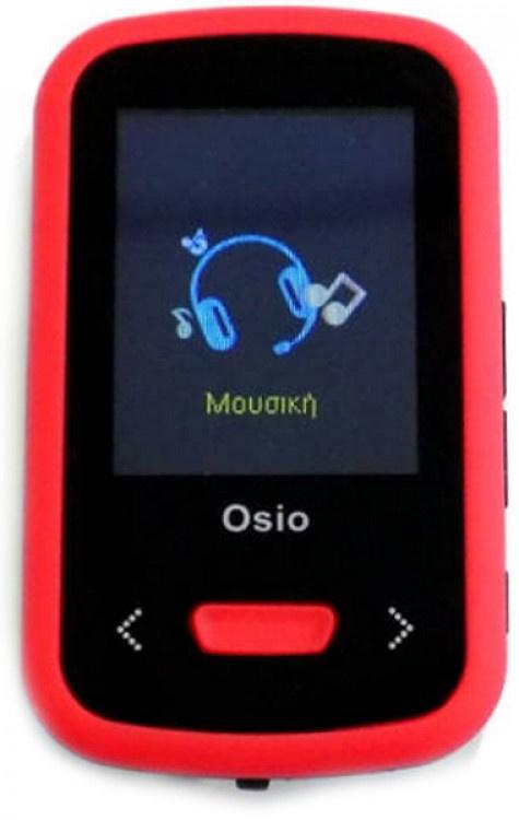 MP4 Player Osio SRM-9280BR Black-Red