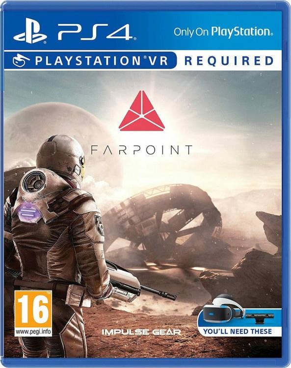 PS4 VR Farpoint