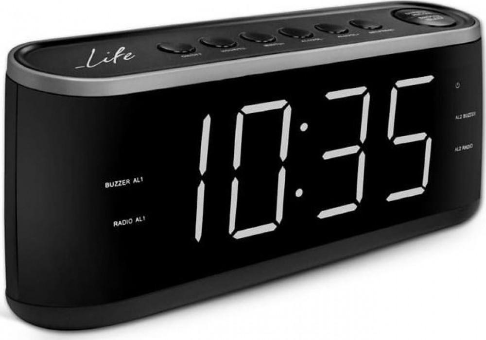 Radio Alarm Clock Life RAC-003