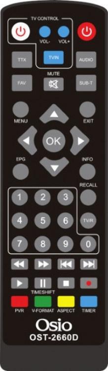 Decoder Osio OST-2660D