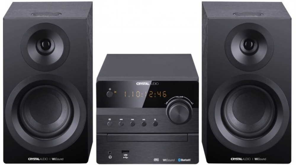 Ηχοσύστημα Crystal Audio Mini HIFI360B Black
