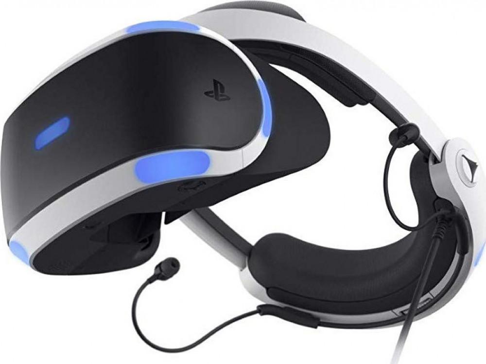 VR Headset Sony Playstation & Camera V2 & VR Worlds & 4 παιχνίδια