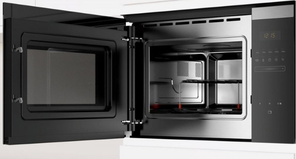 Φούρνος Μικροκυμάτων Εντοιχιζόμενος με Grill Pitsos 25Lt PG30W75X0 Inox