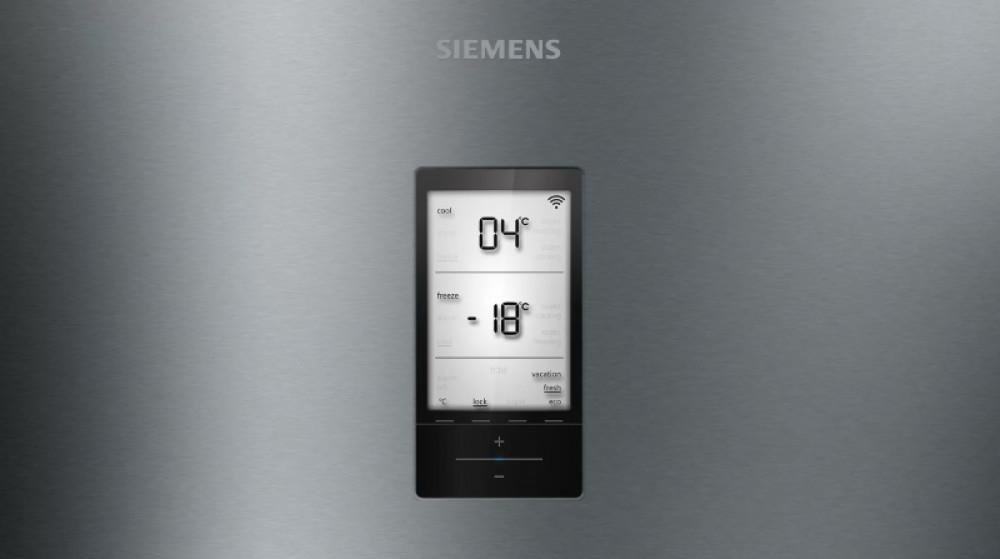 Ψυγειοκαταψύκτης Siemens 200x70 KG49NAIDP Inox