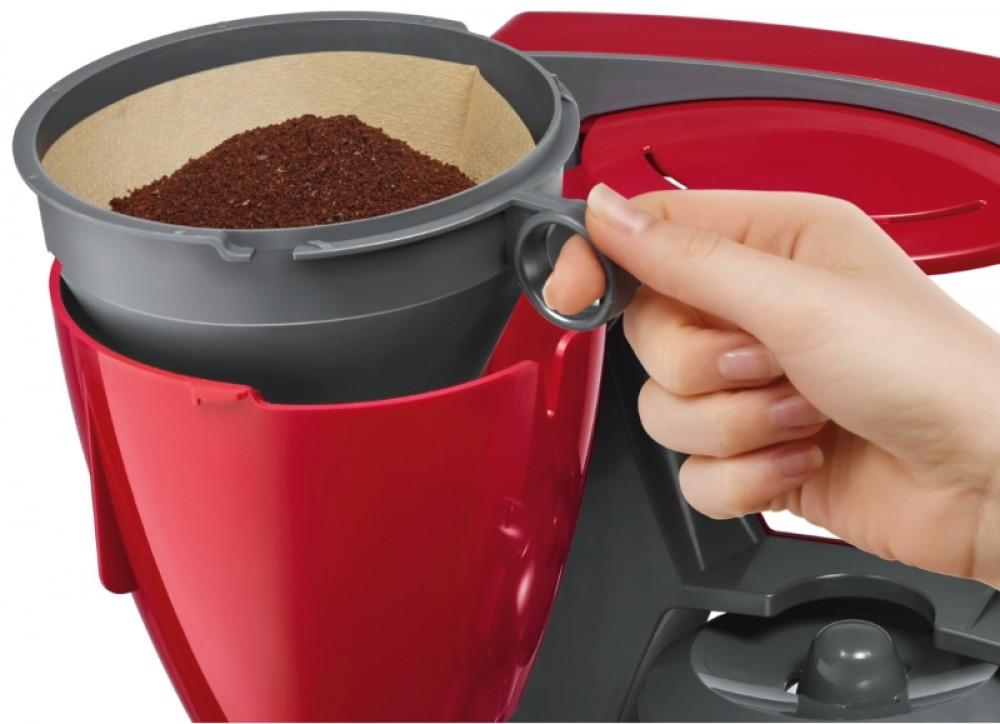 Καφετιέρα Φίλτρου Bosch TKA 6A044  Κόκκινη