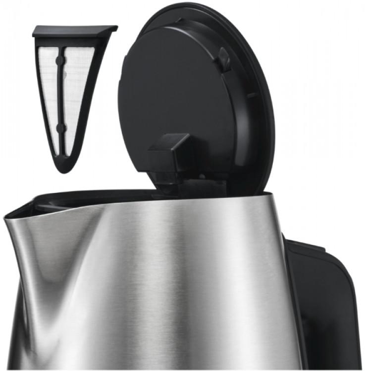 Βραστήρας Bosch TWK6A813 Μαύρος - Inox