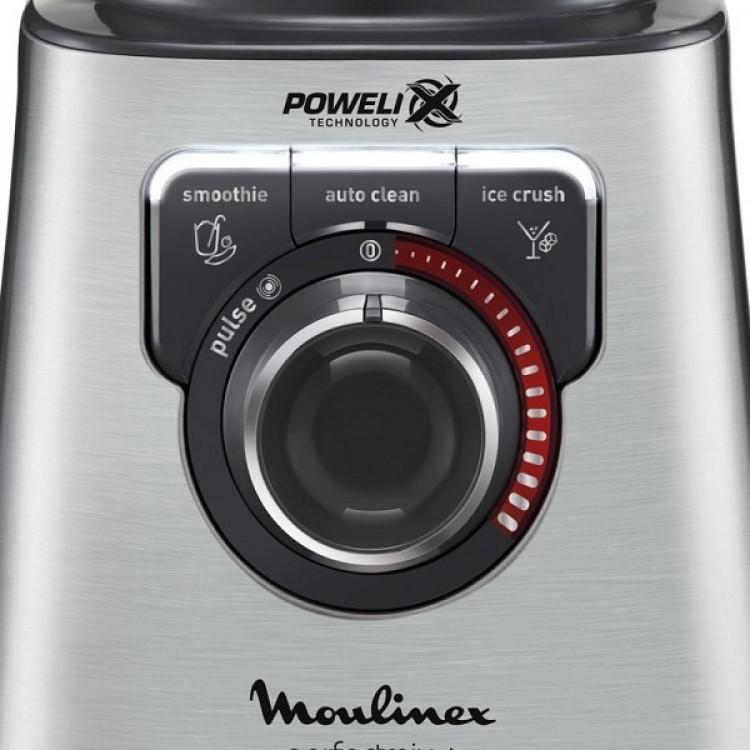 Μπλέντερ Moulinex LM811D Inox