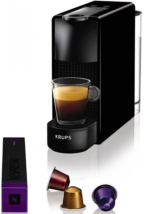 Καφετιέρα Nespresso Krups XN1108S Essenza Μαύρη