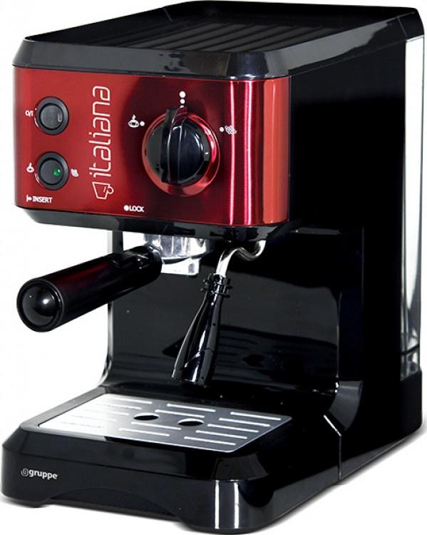 Καφετιέρα Espresso Gruppe CM-4677 Κόκκινη
