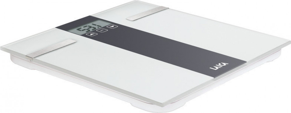 Ζυγαριά Μπάνιου Laica PS5000W Λιπομ/της Λευκή