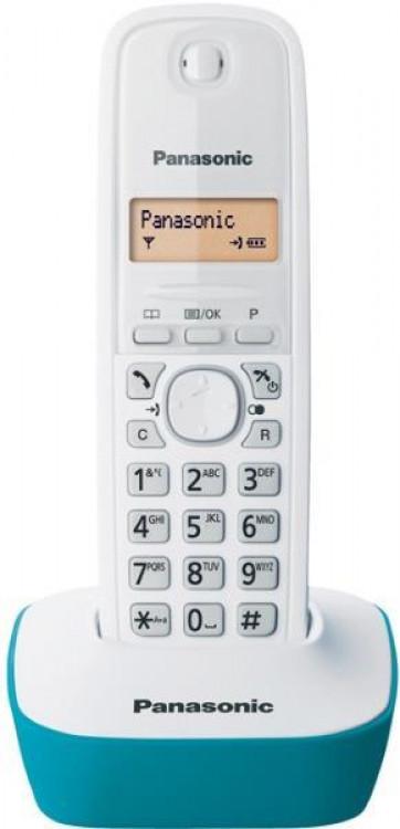 Τηλέφωνο Ασύρματο Panasonic KX-TG1611GRC Γαλάζιο