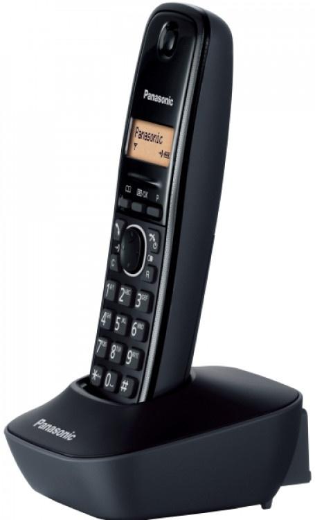 Τηλέφωνο Ασύρματο Panasonic KX-TG1611GRH Μαύρο