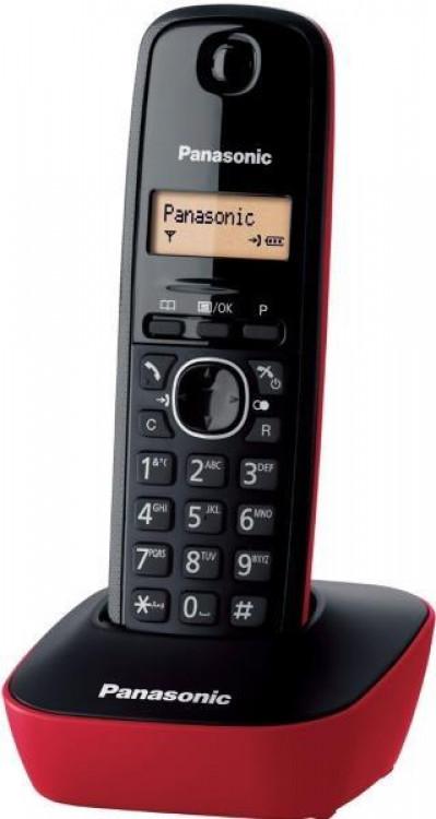 Τηλέφωνο Ασύρματο Panasonic KX-TG1611GRR Κόκκινο