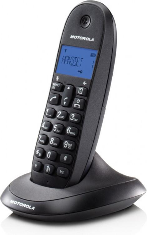 Τηλέφωνο Ασύρματο Motorola C1001LB Μαύρο