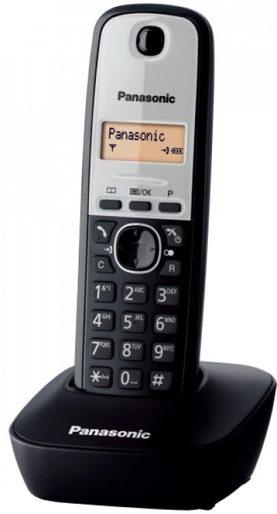 Τηλέφωνο Ασύρματο Panasonic KX-TG1611GRG Ασημί