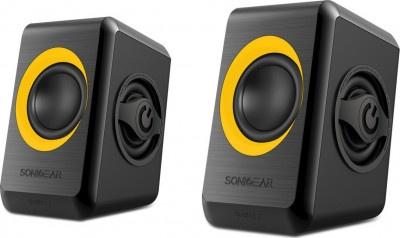 Speakers Sonicgears 2.0 Orange Quad Bass