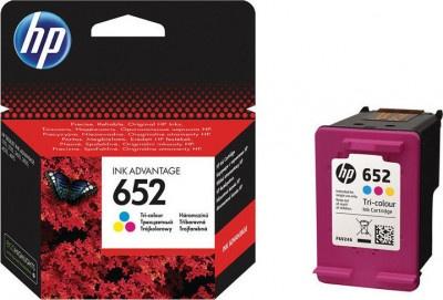 Μελάνι HP 652 Color