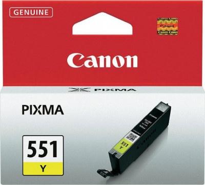 Μελάνι Canon CLI-551 Yellow