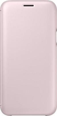 Θήκη Flip Samsung J5 (2017) J530 Blister EF-WJ530CPEGWW Pink Original