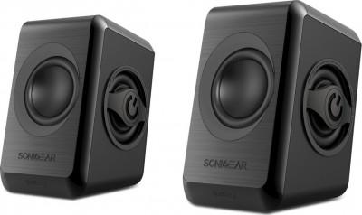 Speakers Sonicgears 2.0 Black Quad Bass